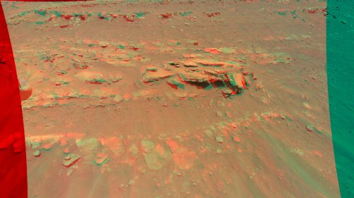 Mars-Hubschrauber knipst Hügel - und muss Rotoren schneller