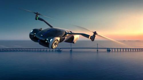 Xpeng stellt fliegendes Auto vor