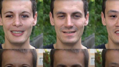Echte Gesichter aus KI-Fake-Generatoren identifizierbar