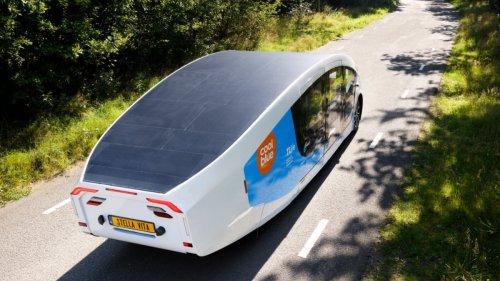 Solarflügel-Camper tourt 2.000 km ohne Steckdose