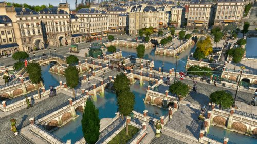Anno 1800 macht die Fußgängerzonen schön
