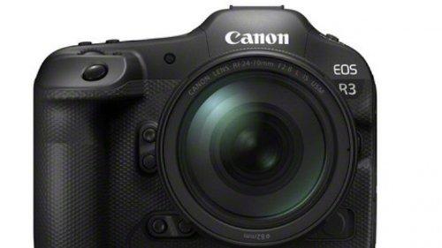 Canon EOS R3 mit Augensteuerung des Autofokus