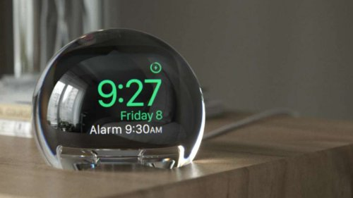 Kunststoffkugel macht Apple Watch zum besseren Wecker