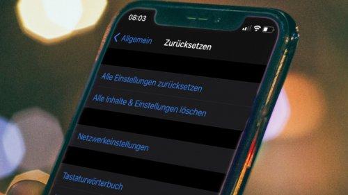 Weiterer WLAN-Name schaltet WLAN am iPhone ab