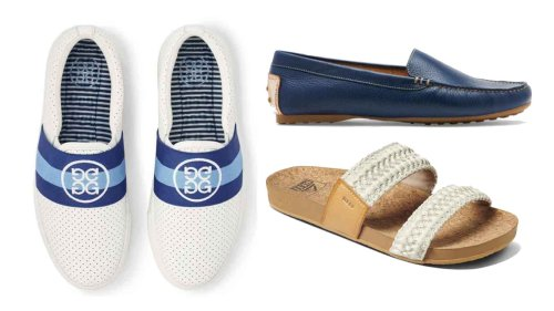 3 perfect post-round shoes for any occasion: casual, sporty and refined