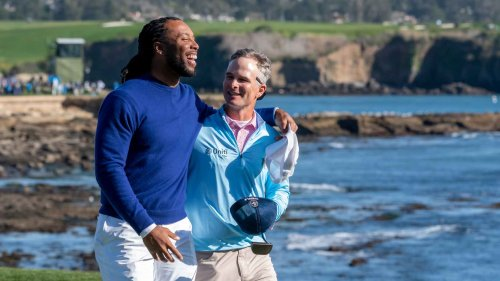 Why this NFL great abandoned Kevin Streelman for 5 holes at the AT&T Pebble Beach Pro-Am