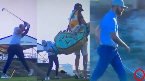 Pro destroys iron, smashes tee marker in PGA Championship meltdown