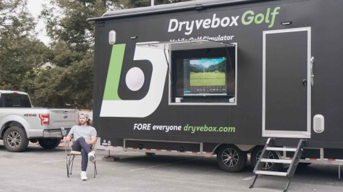How this 'driving range on wheels' is aiming to make golf more accessible
