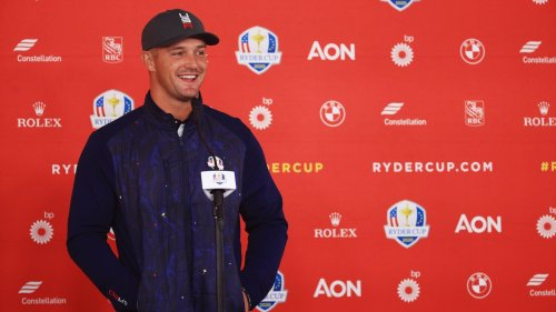 In short session with reporters, Bryson DeChambeau revealed plenty