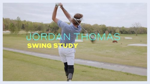 Breaking down the swing of amateur golfer Jordan Thomas