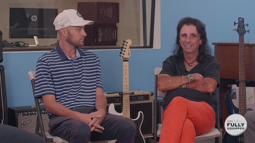 Fully Equipped: Alice Cooper tells a hilarious John Daly story involving Justin Timberlake