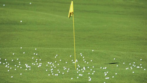 How much different are range balls than those fresh out of a premium $15 sleeve?