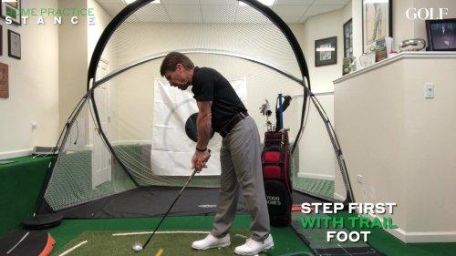 Golf Stance Instruction Video