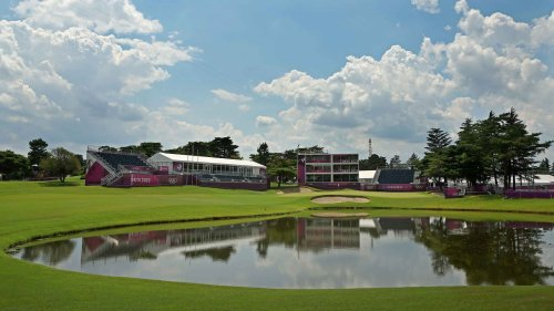 Tour Kasumigaseki Country Club, site of the Olympic golf competition