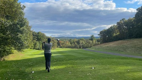 The tiniest greens I've ever seen and Wawa mornings: My new favorite fall golf trip