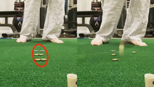 This incredibly difficult at-home drill will fix your chunks and tops