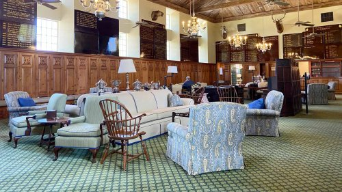 Tour the Seminole Golf Club men's locker room, one of the coolest hangouts in golf