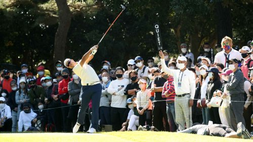 Hideki Matsuyama was down one late. Then came one of the best finishes you'll see.