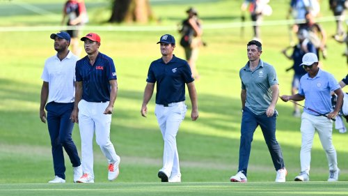 Seven-way playoff for bronze medal sends Olympic golf into chaos