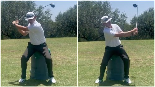 This trash-can drill will boost your 'arm speed' and help you hit draws