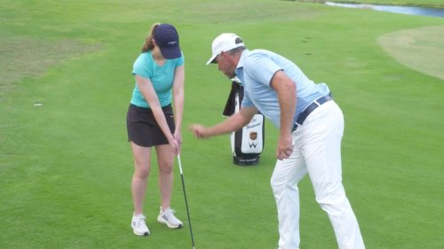 Lee Westwood gave me a short-game lesson — here's what I learned