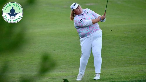 This LPGA rookie lost 35 pounds. Here's what you can learn from her