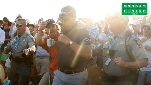 Monday Finish: What TV didn't capture about Phil Mickelson's PGA win