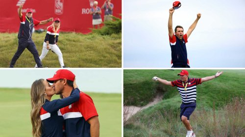 Relive Team USA's Ryder Cup celebration with these 16 photos