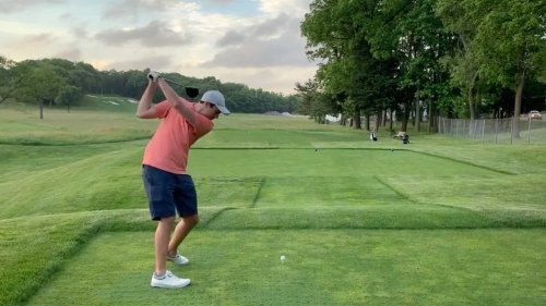 How this 10-handicap stopped his sway and added power to his swing