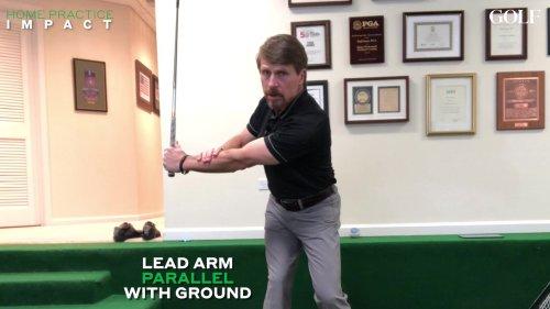 Golf Impact Instruction Video