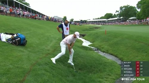 'Let's think about this': Rory McIlroy explains pivotal drop on 18th hole