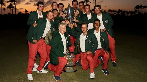 Americans hold off Great Britain and Ireland to clinch third-straight Walker Cup victory