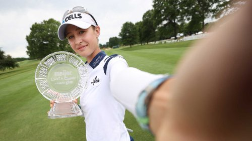 The two words of advice Nelly Korda got from Bubba Watson before winning