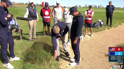 Brooks Koepka snaps at rules officials after controversial Ryder Cup decision