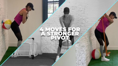 Home Fitness: 4 Moves for a Stronger Pivot