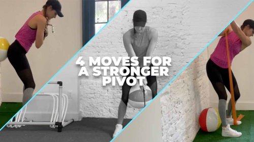 Golf Fitness 101: 4 exercises for a stronger backswing pivot
