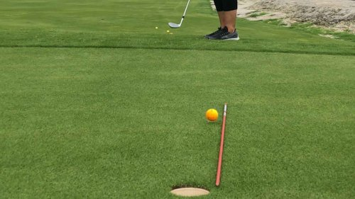Use this drill to increase your chances of a chip-in