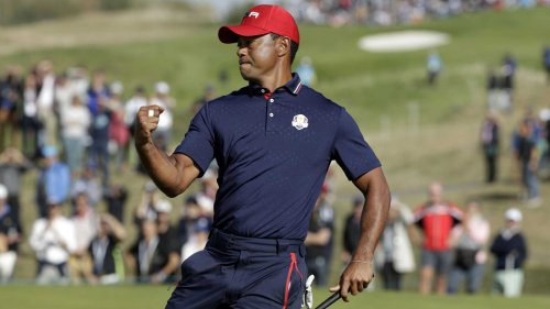 What Tiger Woods said to U.S. Ryder Cup team after victory