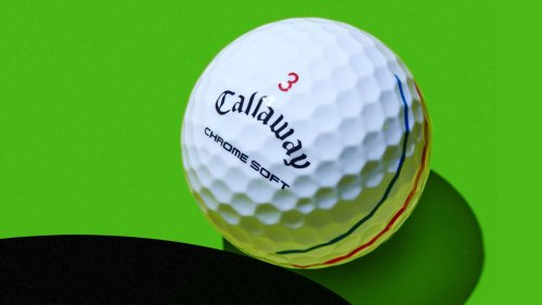 How Callaway's Triple Track golf ball alignment system works