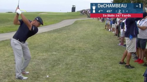 Why Bryson DeChambeau is OK with hitting it 'where people are walking'