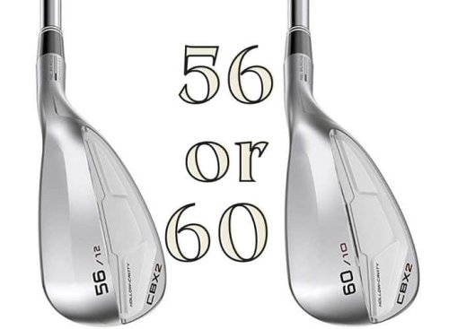 56 or 60 Degree Wedge – Which One to Carry for Short Game?