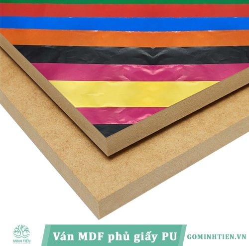 Van MDF - cover