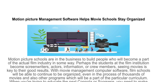 theatre management software