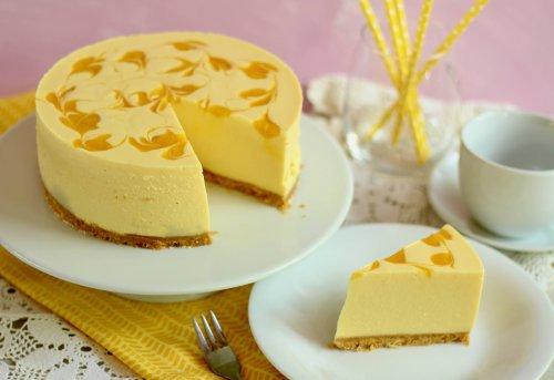 🥭Mango Torte mit Mango Mousse ohne Backen 🥭| Rezept und Video von Sugarprincess