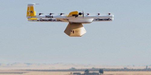 Noch vor amazon: Google-Schwester Wing startet die kommerzielle Drohnen-Zustellung (Videos)