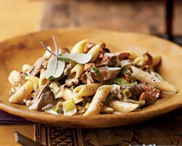 Creamy Mushroom Pasta Recipes - Italian Style (Buonissime)