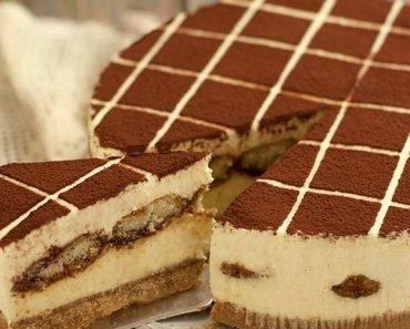 Creamy Cold Tiramisu Cake