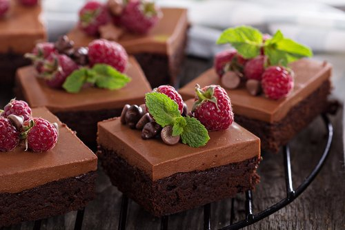 Fluffy Chocolate Mousse Brownies Recipe
