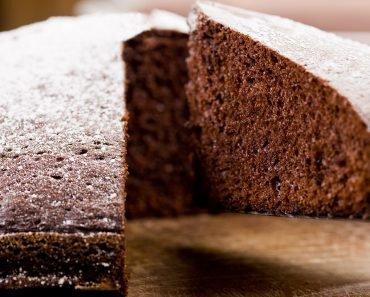 Simple Flourless Chocolate Cake