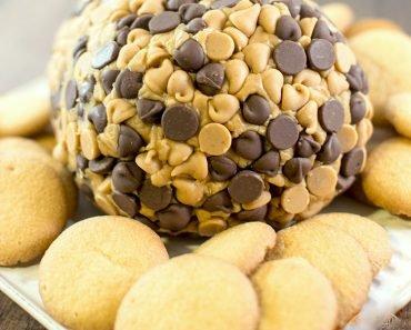 "Creamy Peanut Butter ""Cheese"" Ball"